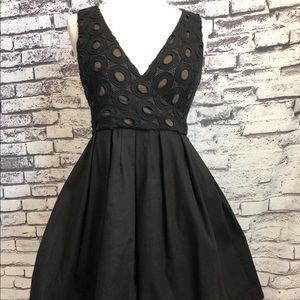maginn Dresses - Little Black Sexy Lace Fit Flare Pinup Dress